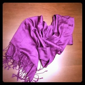 Accessories - Purple Pashmina